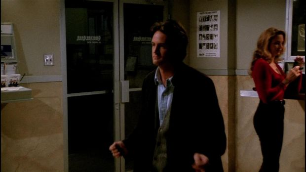 At least he was stuck in there with Jill Goodacre.