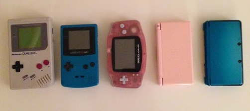 Mine!  Original, Color, Advance, DS Lite, & 3DS!