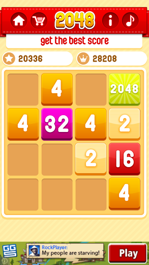 I can almost get 2048 on demand at this point...