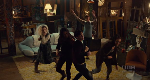 Helena's dance moves, though.