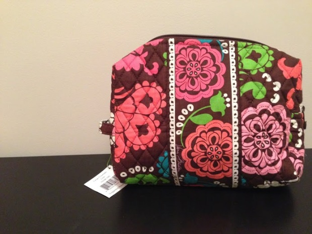 Lola is the newest pattern in my collection.  I tend to love browns.  My smaller cosmetic case is Mocha Rouge!