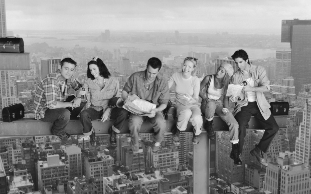 Friends-Wallpaper-tv-series-photo-Lunch-Atop-a-Skyscraper-Photography