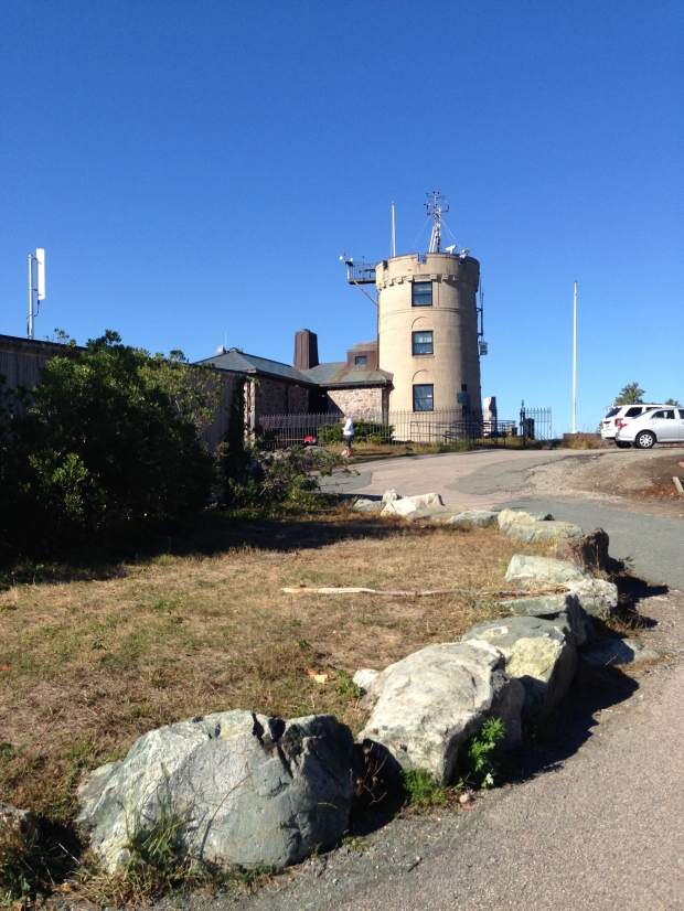 the Weather Observatory adorned with meteorological instruments