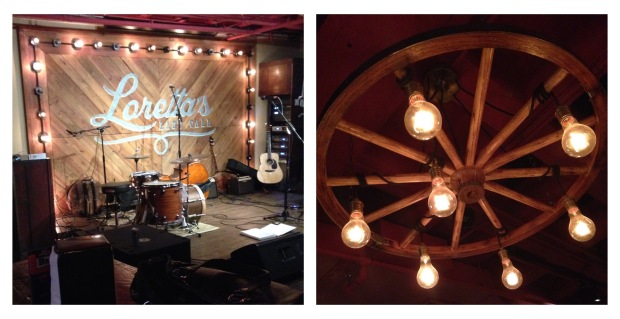 rock me mama like a wagon wheel... loved these chandeliers!