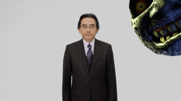 """Something is on the way,"" says Satoru Iwata, ""and it isn't just the moon."""
