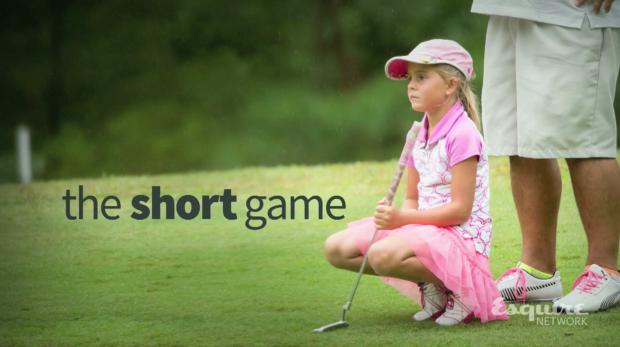 Chloe Kovelesky, the most adorable of tiny golfers.