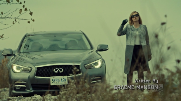 Fe's right; power looks amazing on Delphine.