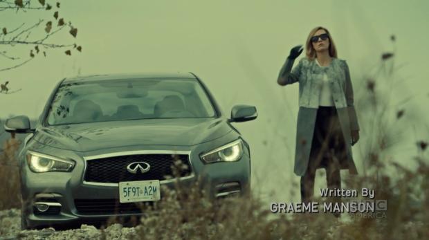 Fe's right; power looks amazing on Delphine.